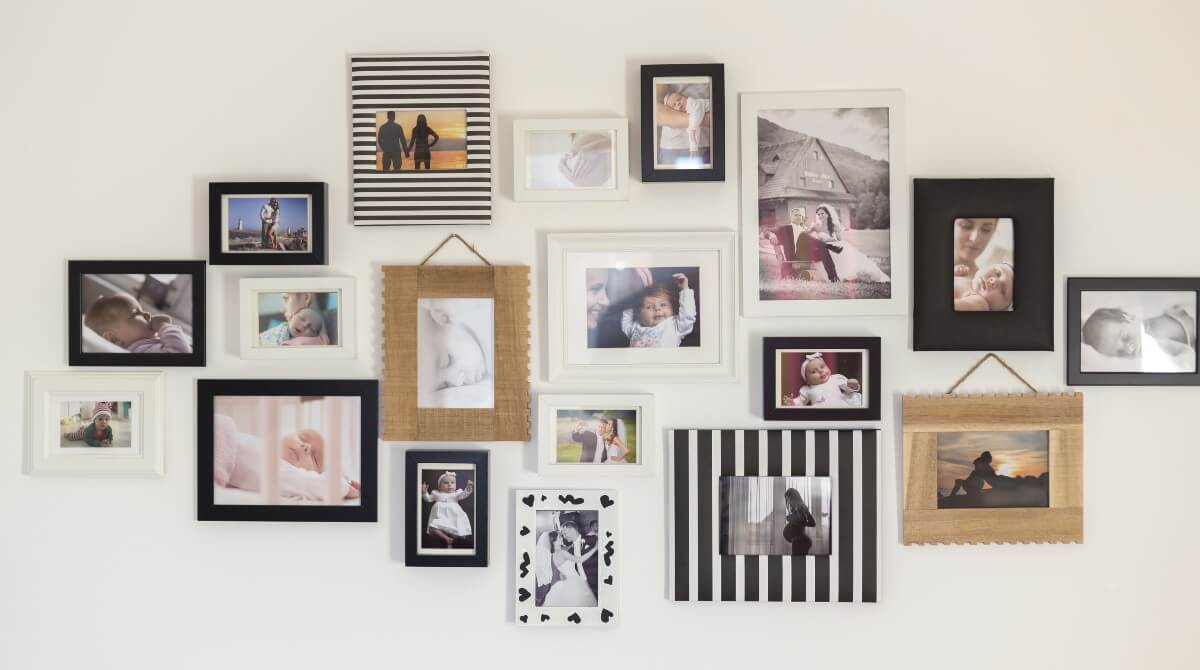 Wall Decoration With Photos